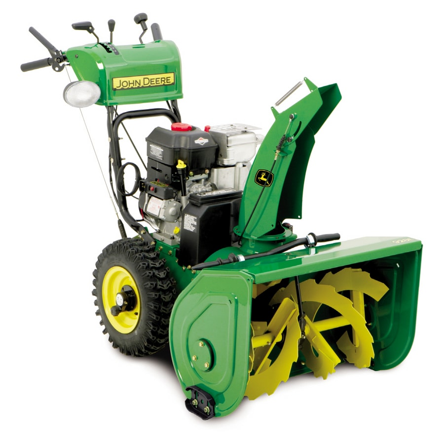 Shop John Deere 342cc Dual Stage 30 Quot Gas Snow Blower At