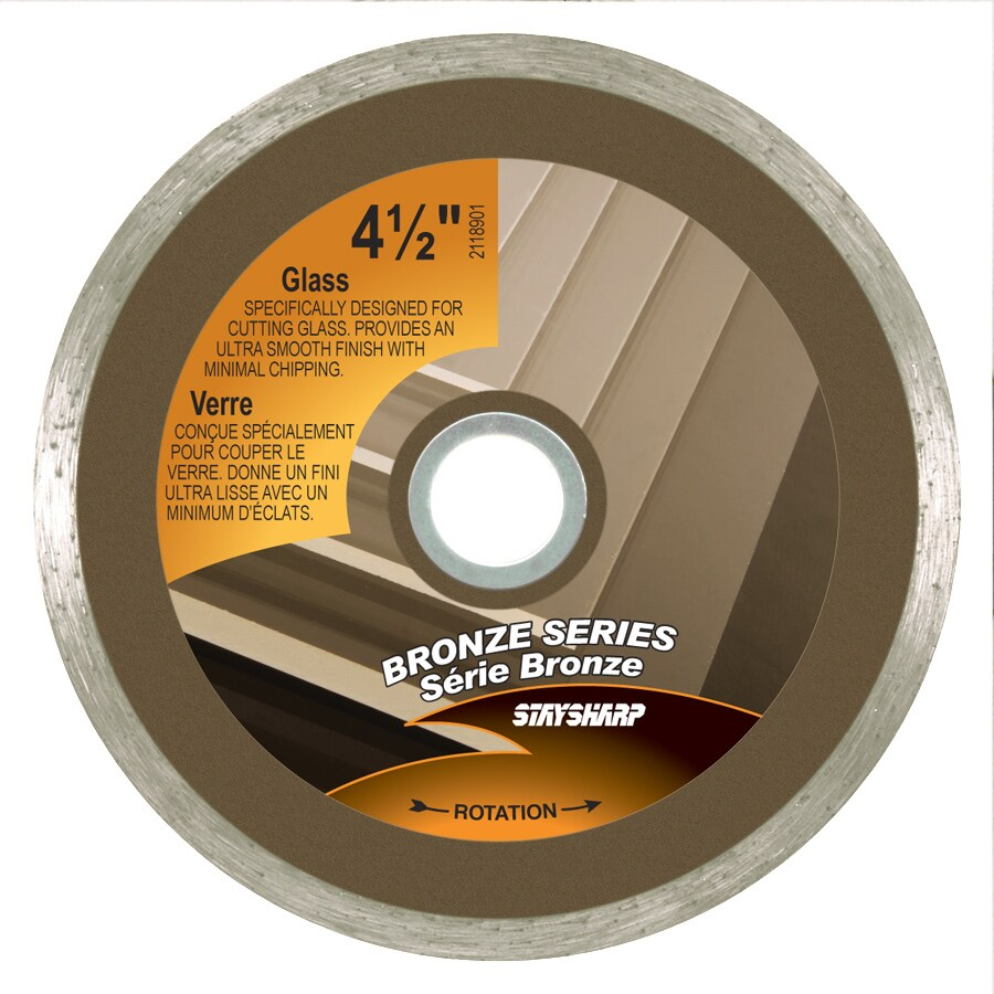 Exchange-A-Blade 4-1/2-in Wet or Dry Continuous Diamond Circular Saw Blade