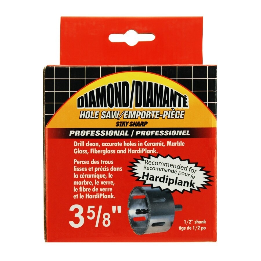Exchange-A-Blade 3-5/8-in Diamond Non-Arbored Hole Saw