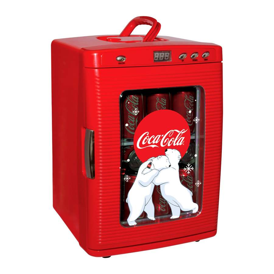 Coca-Cola 7-Gallon Plastic Beverage Cooler