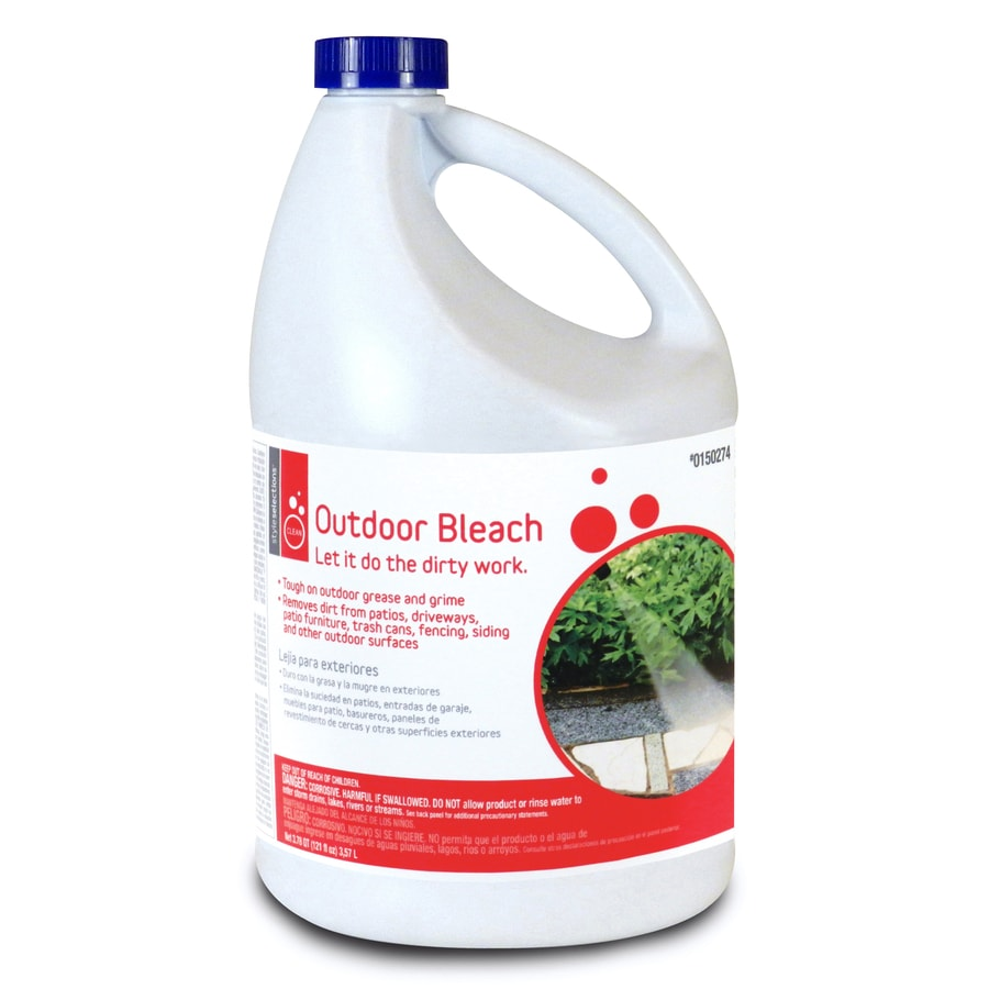 Style Selections 121-fl oz Outdoor Bleach