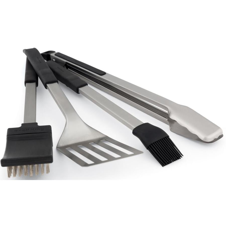 Broil King Baron 4-Pack Stainless Steel Tool Set