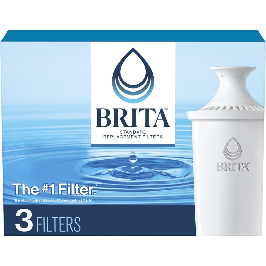 Brita 3-Pack 40-Gallon Pitcher Replacement Filters