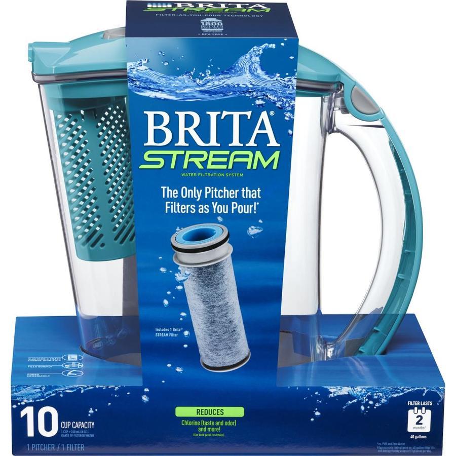 Brita Stream 10-Cup Pitcher