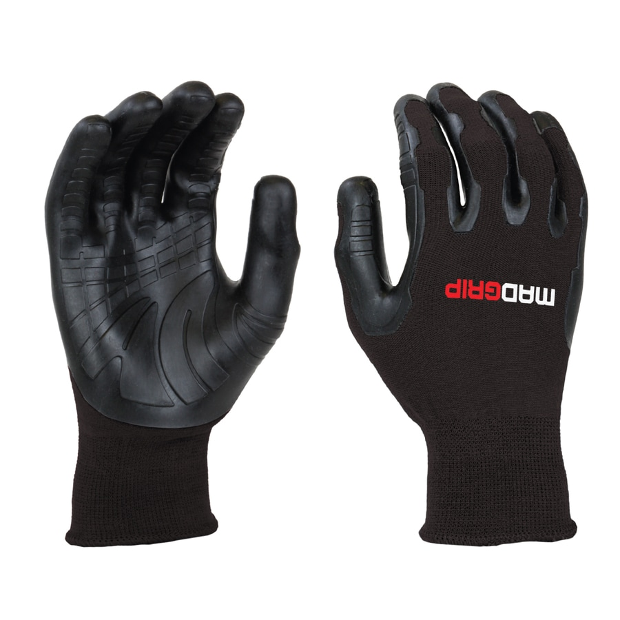 MadGrip Pro Palm Utility Medium Unisex Rubber Multipurpose Gloves