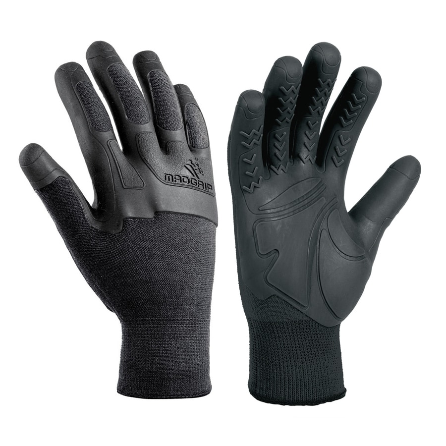 Shop Mad Grip Pro Palm Knuckler Medium Unisex Rubber High Performance Gloves at Lowes.com