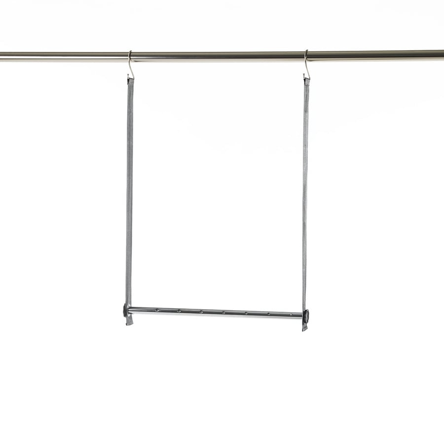 Style Selections Expandable Double Hanging Bar
