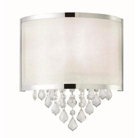 cc1db3286ae0 Canarm Reese 4.25-in W 1-Light Chrome Modern/Contemporary Wall Sconce