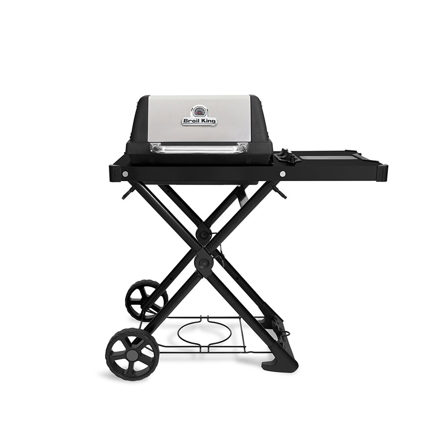 Broil King Porta-Chef AT220 Black/Stainless steel 16000-BTU 348-sq in Portable Gas Grill