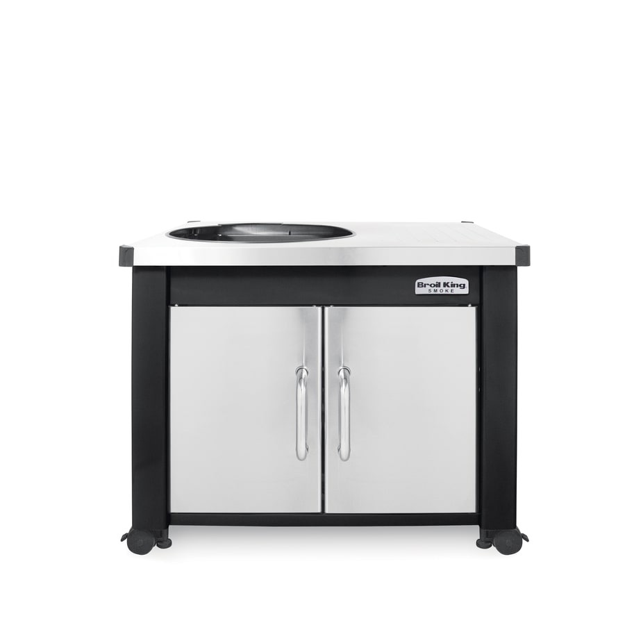 Broil King Black, Stainless Steel Grill Cart
