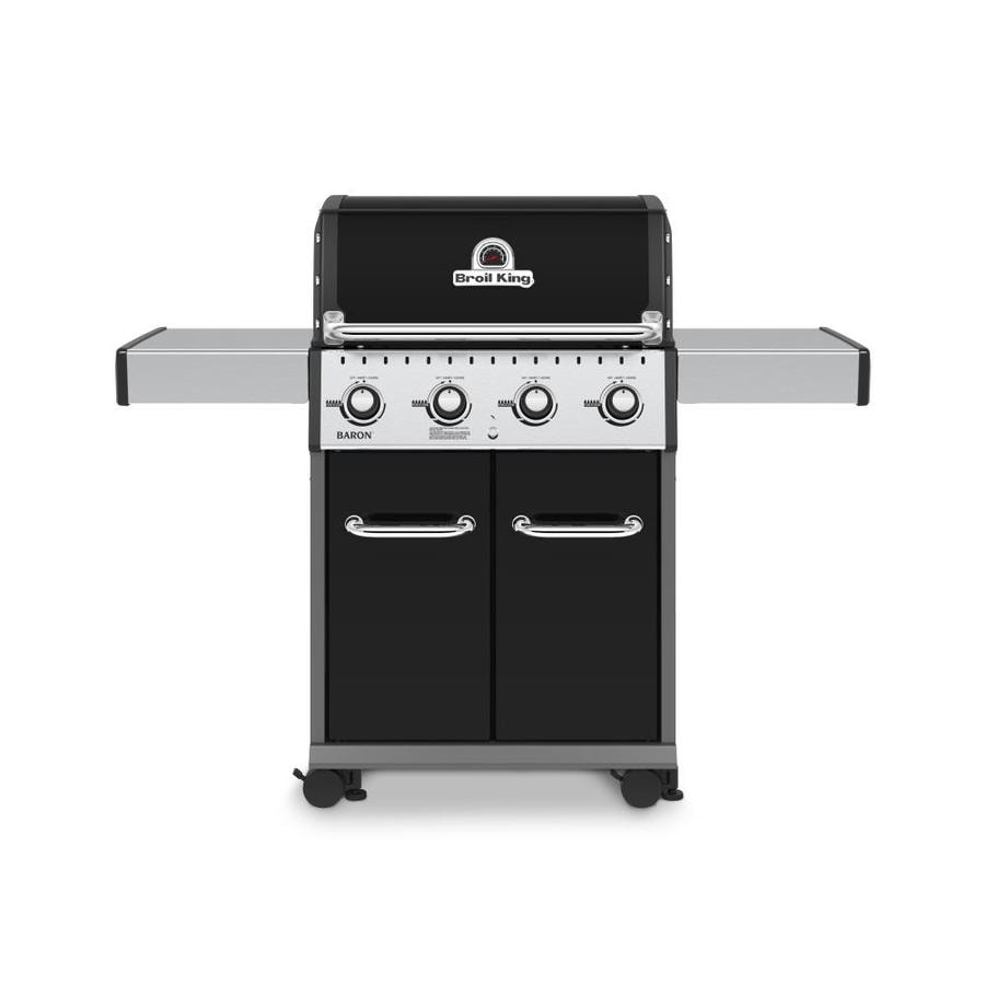 Broil King Baron 420 Stainless Steel 4-Burner Natural Grill