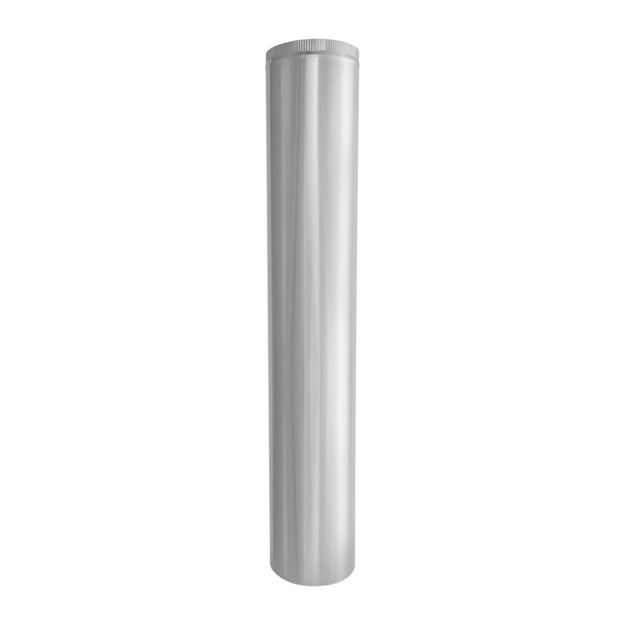 IMPERIAL 10-in x 60-in Galvanized Steel Round Duct Pipe