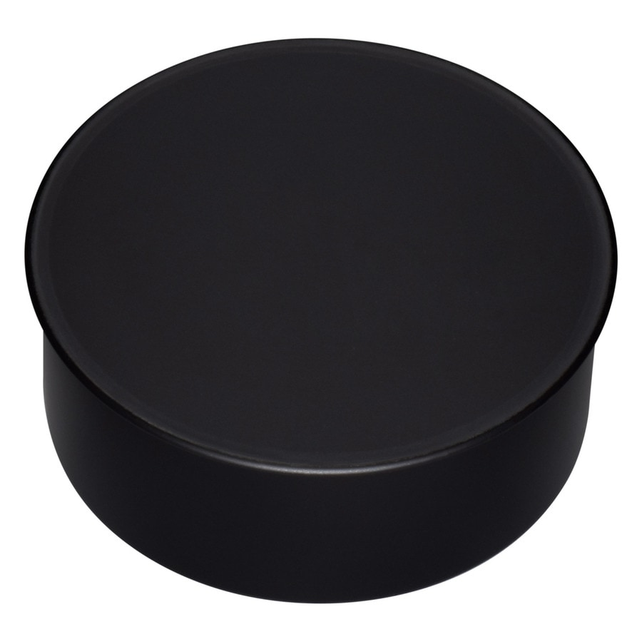 IMPERIAL 5-in Black Steel Stove Pipe Cap