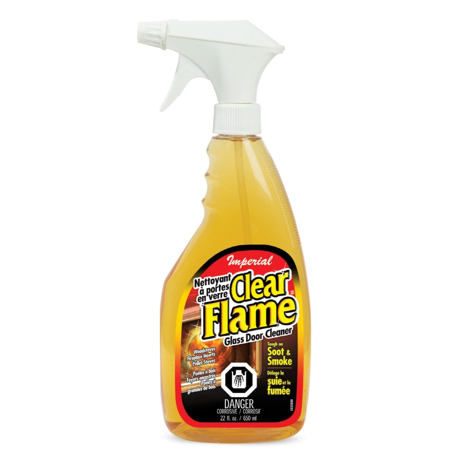 Shop IMPERIAL 23-oz Clear Flame Glass Cleaner at Lowes.com