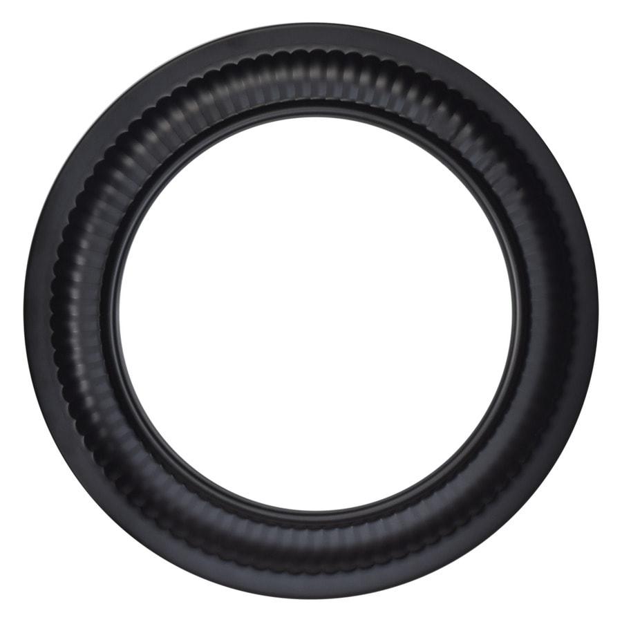 Imperial 8 In Black Steel Stove Pipe Trim Collar