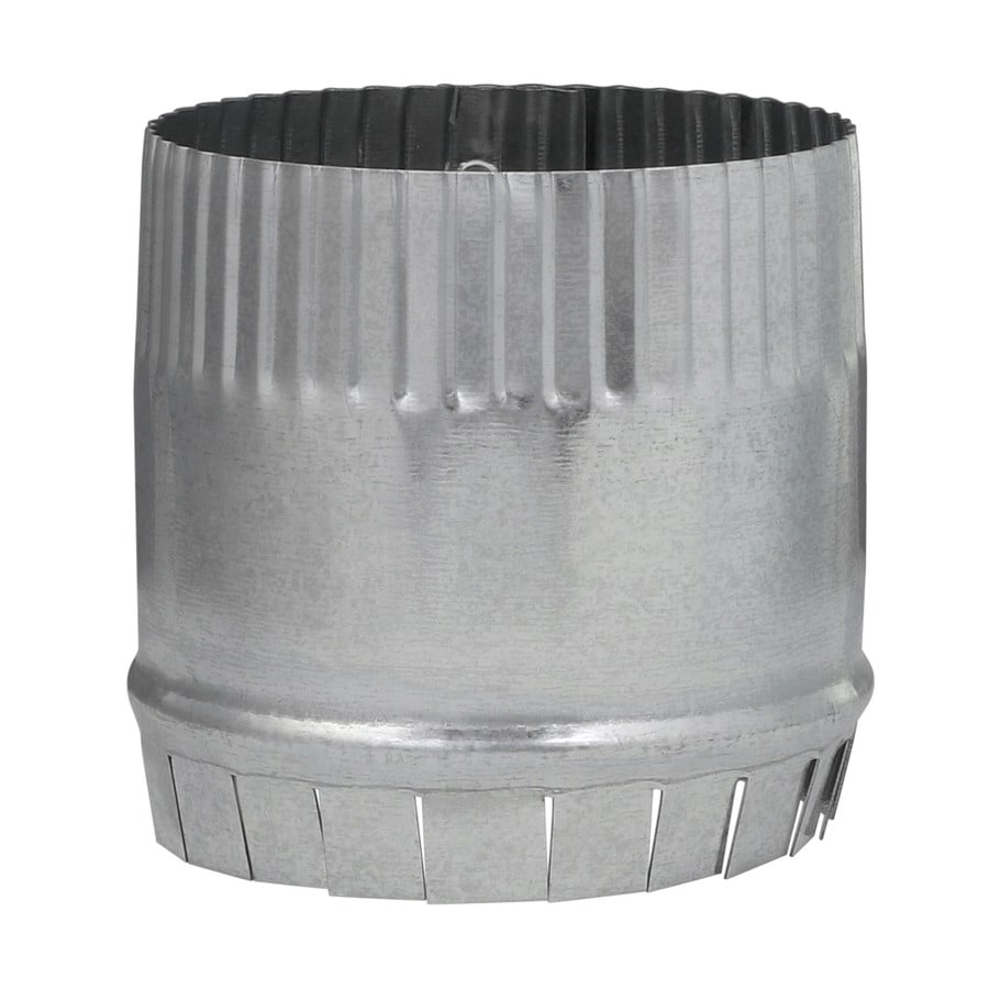Imperial 4 In Galvanized Steel Round Storm Duct Starting