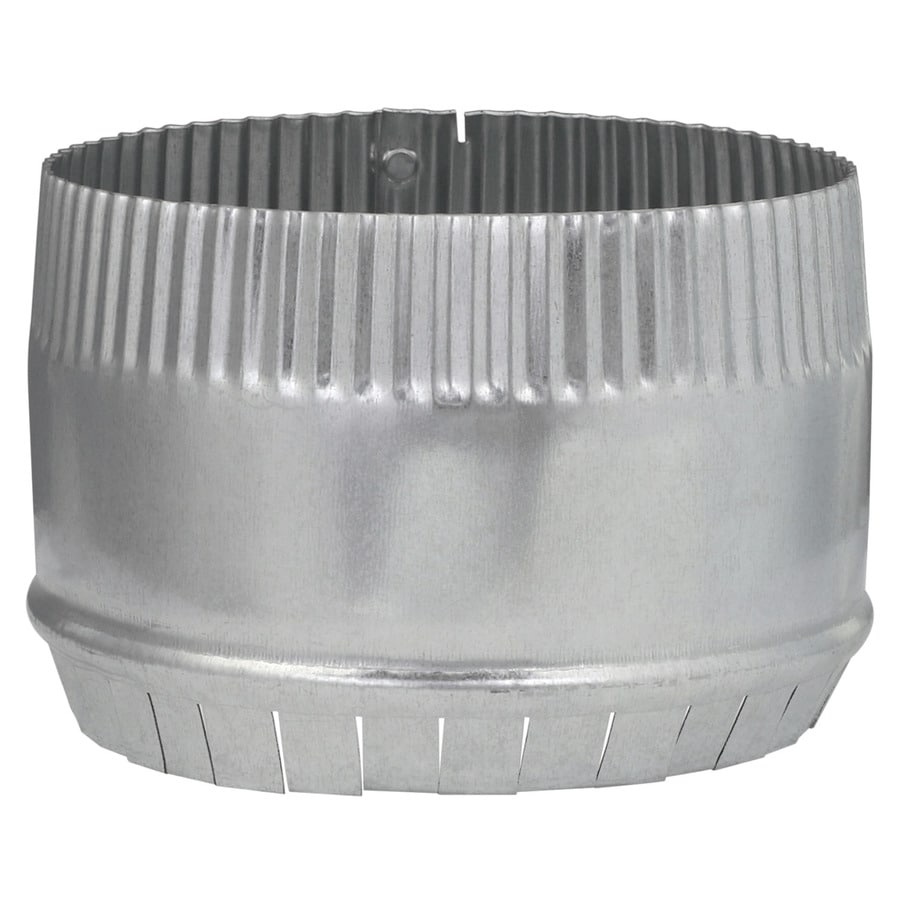IMPERIAL 6-in Galvanized Steel Round Storm Duct Starting Collar
