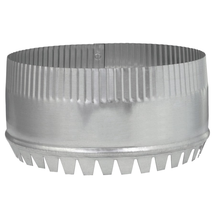 IMPERIAL 8-in Galvanized Steel Round Storm Duct Starting Collar