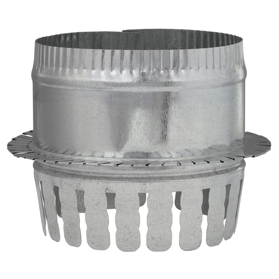 IMPERIAL 6-in Galvanized Steel Ductboard Duct Starting Collar