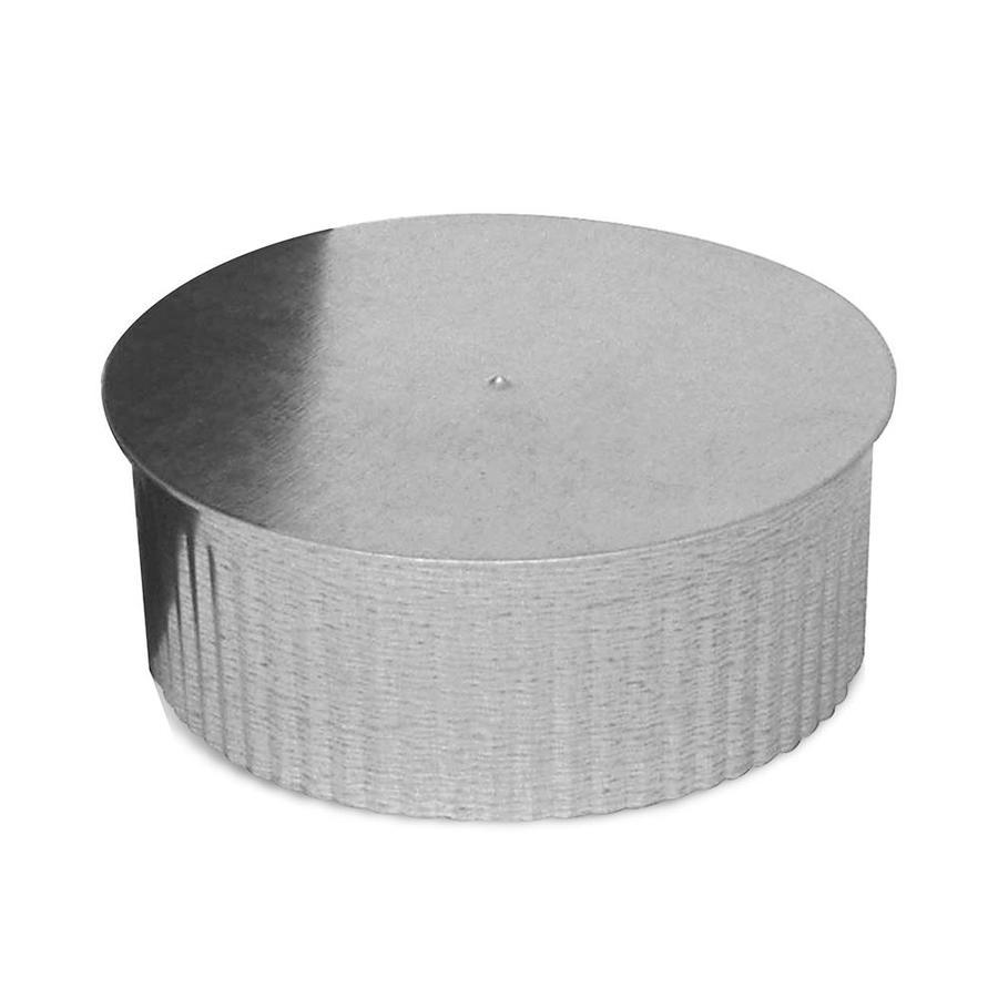IMPERIAL 7-in Dia Galvanized Steel Round End Cap