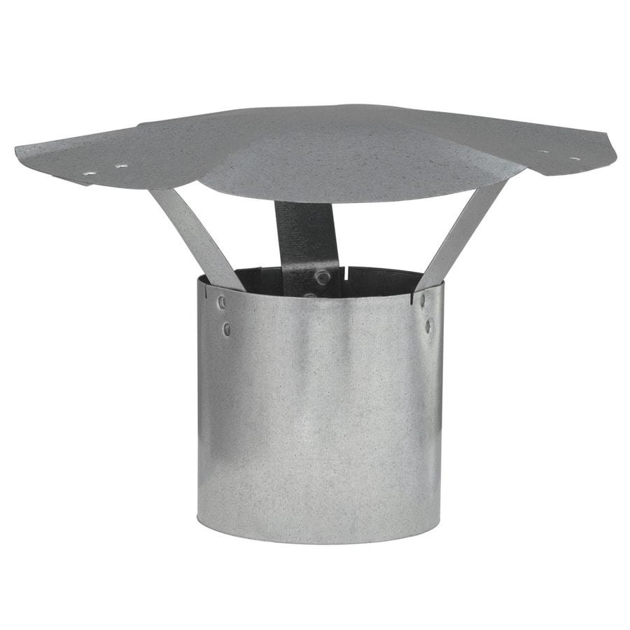 IMPERIAL 4-in Dia Galvanized Steel Rain Cap
