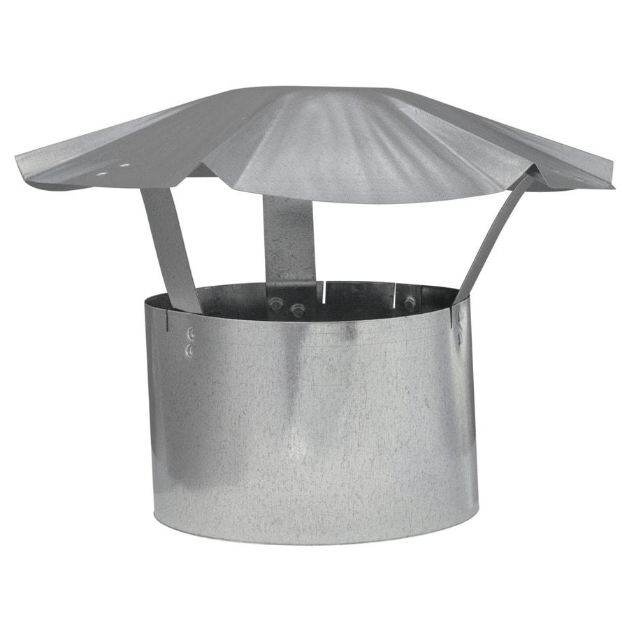 6 Quot In Rain Cap Chimney Galvanized Steel Prevent Rain Snow