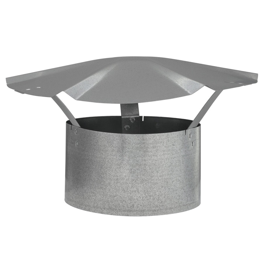 IMPERIAL 7-in Dia Galvanized Steel Rain Cap