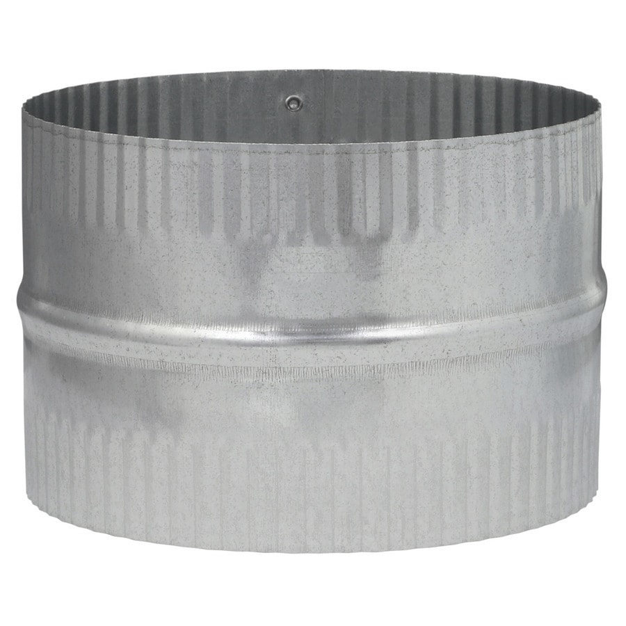 IMPERIAL 6-in dia Crimped Galvanized Steel Flexible Duct Connector