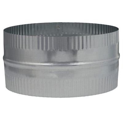 IMPERIAL 8-in Dia Crimped Galvanized Steel Flexible Duct