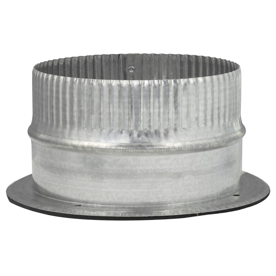 IMPERIAL 7.5-in x 3.25-in Galvanized Steel Airtight Adhesive Duct Take-Off
