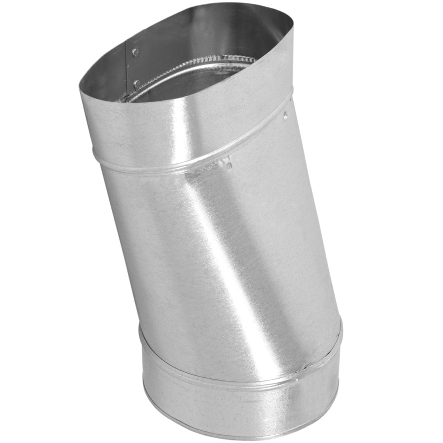 IMPERIAL 6-in Galvanized Steel Round to Oval Duct Boot