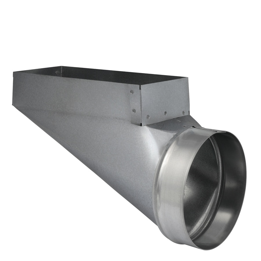 Shop Imperial 10 In X 4 In X 6 In Galvanized Steel End