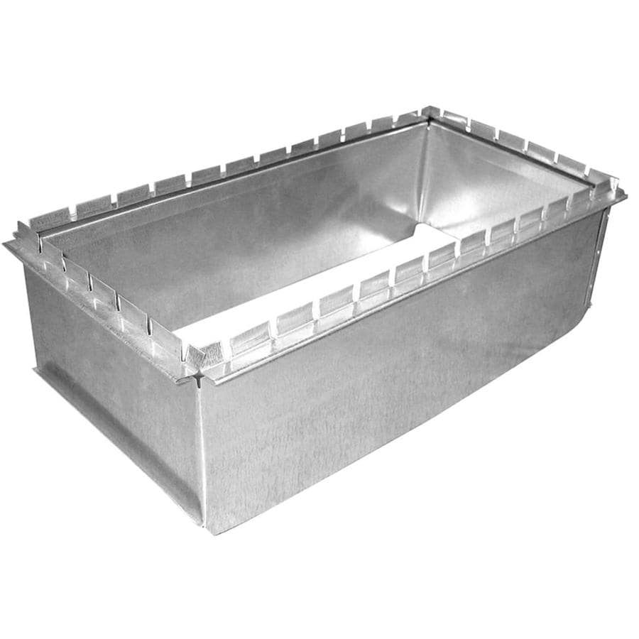IMPERIAL 16-in x 8-in Galvanized Steel Rectangular Duct Take-Off
