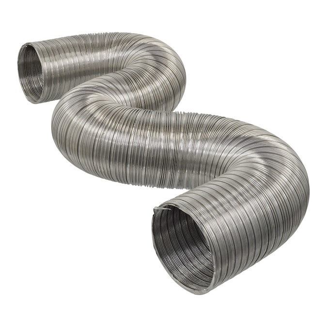 Imperial 4 In X 96 In Aluminum Semi Rigid Flexible Duct In The Flexible Duct Department At Lowes Com