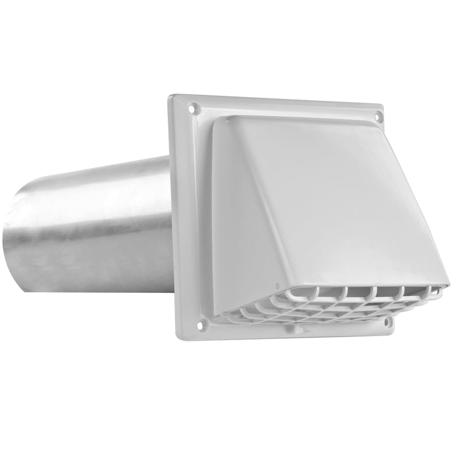 IMPERIAL 4 in Dia Plastic Preferred with Guard Dryer Vent Hood. Shop Dryer Vent Hoods at Lowes com