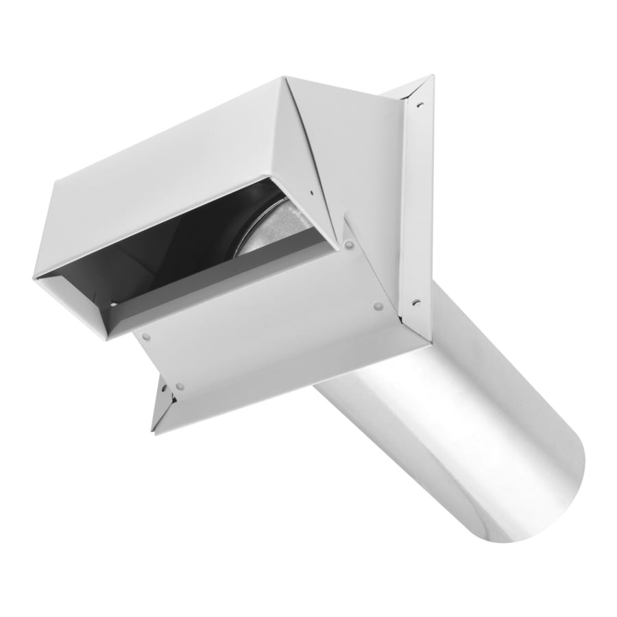 IMPERIAL 4 in Dia Galvanized Steel R2 Exhaust Dryer Vent Hood. Shop Dryer Vents   Accessories at Lowes com