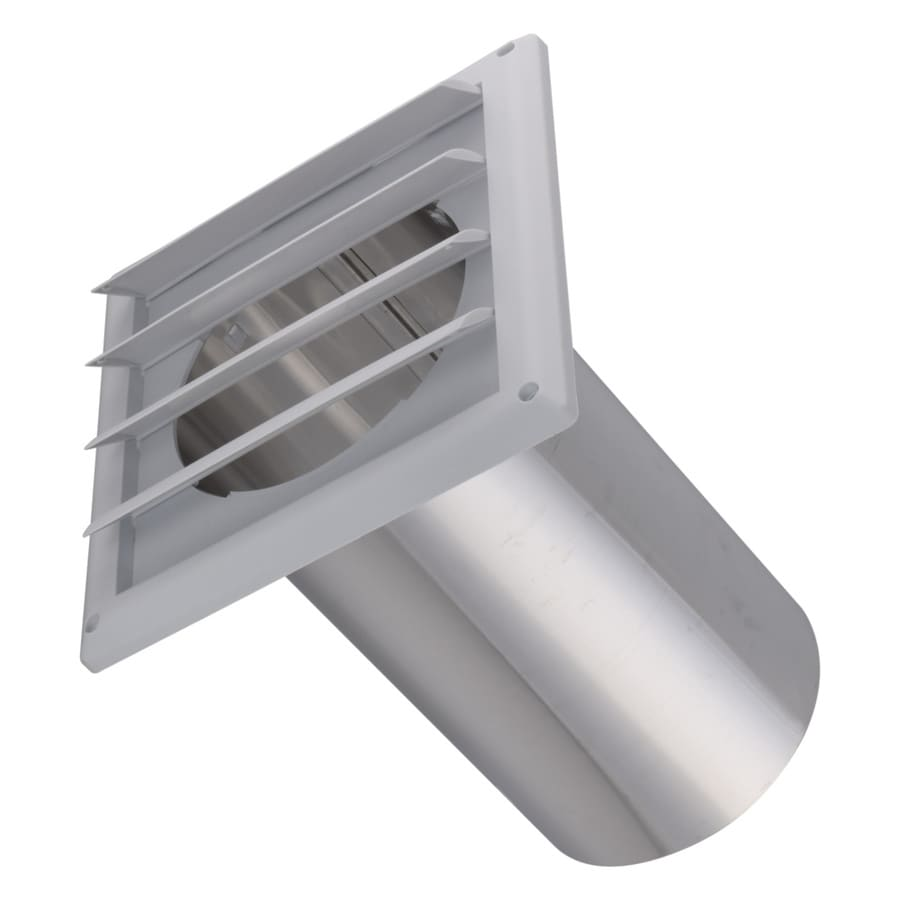 IMPERIAL 6-in Dia Plastic Louvered Dryer Vent Hood