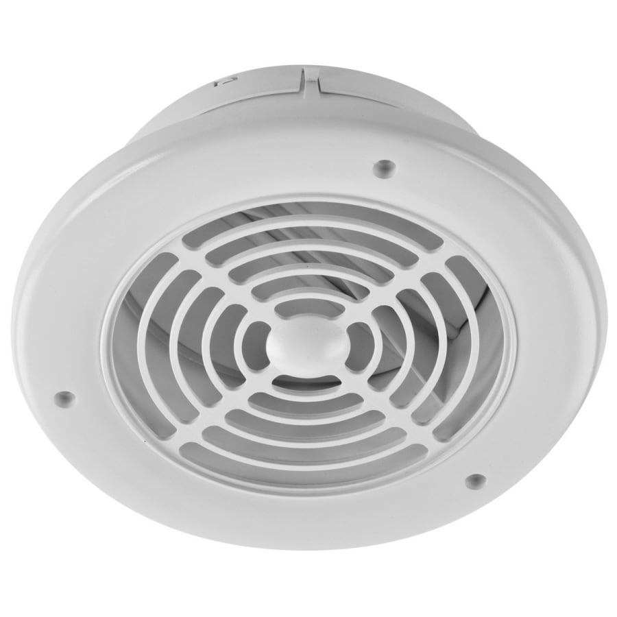 Shop imperial 8 5 in l white plastic soffit vent at for Bathroom exhaust fan exterior cover