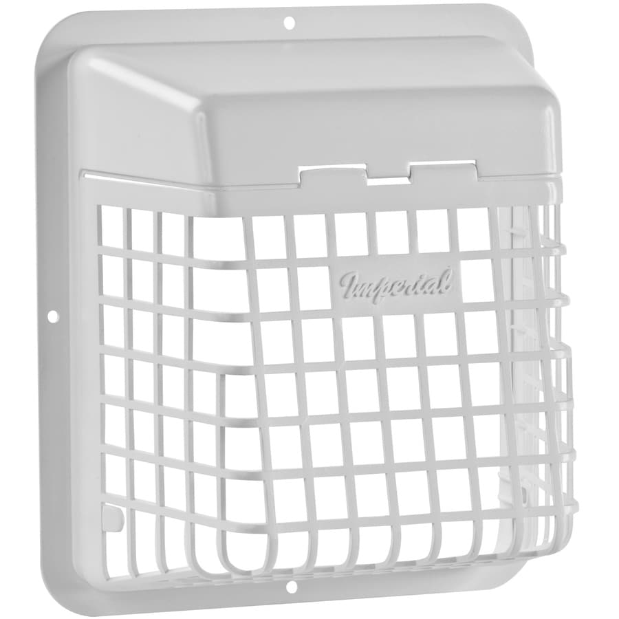 Shop Imperial 4 In Plastic Pest Guard Dryer Vent Cap At
