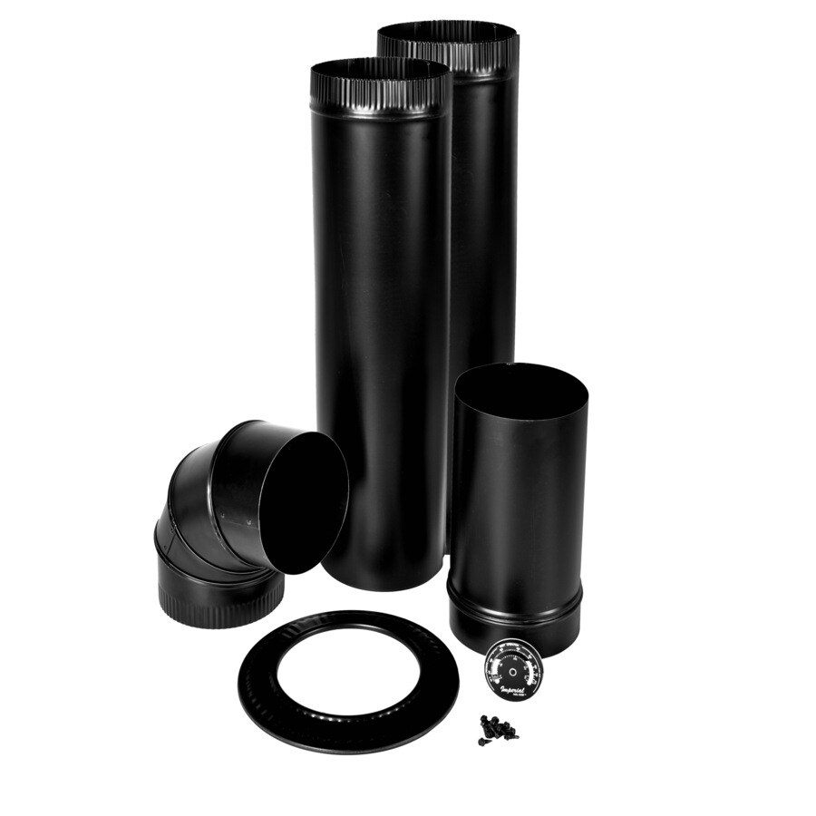 IMPERIAL 18-Piece Chimney Pipe Accessory Kit for Wood-burning Appliances  sc 1 st  Loweu0027s & Shop Chimney Pipe Accessory Kits at Lowes.com