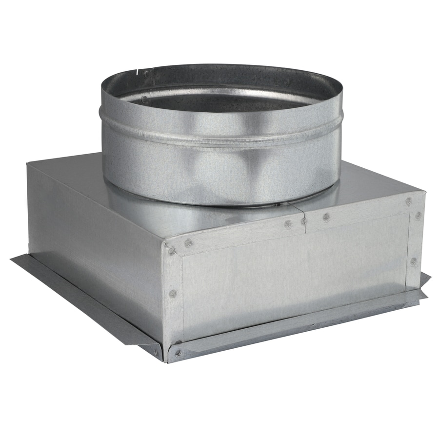 IMPERIAL 8-in x 10-in Galvanized Steel Ceiling Register Duct Boot