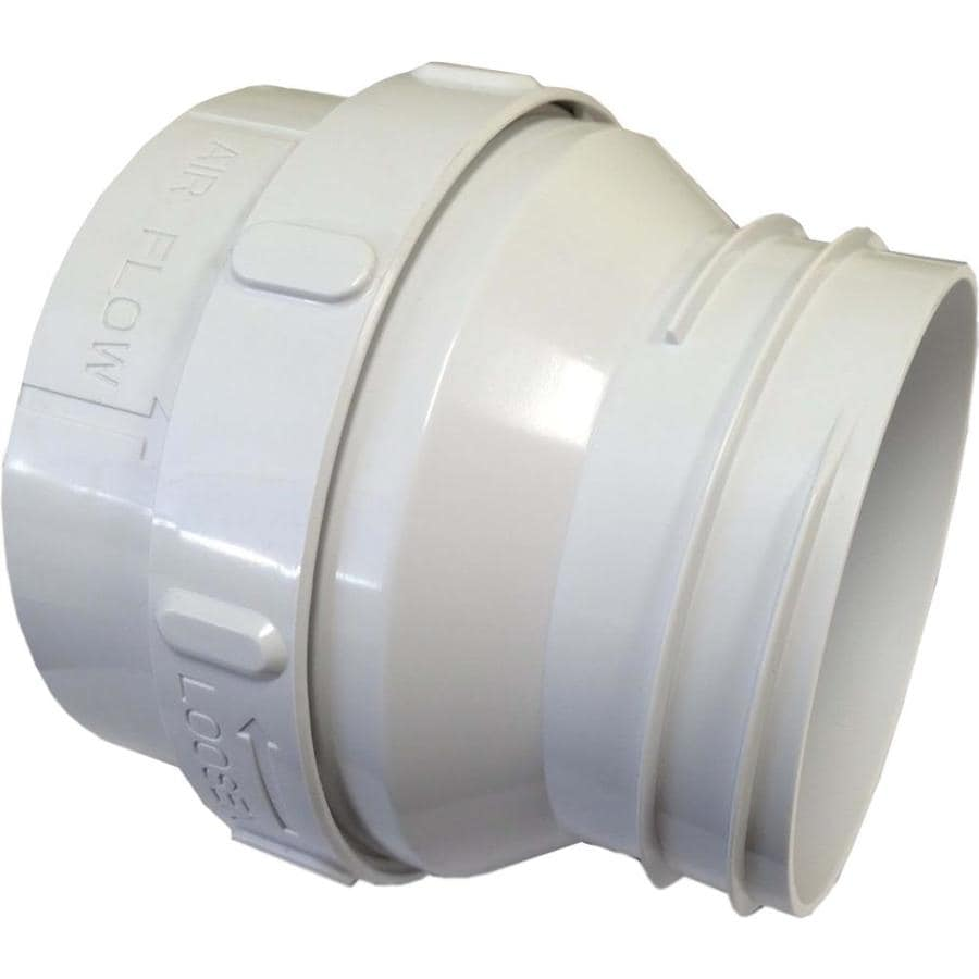 Shop Imperial 4 In Dia Plastic Flexible Duct Connector At