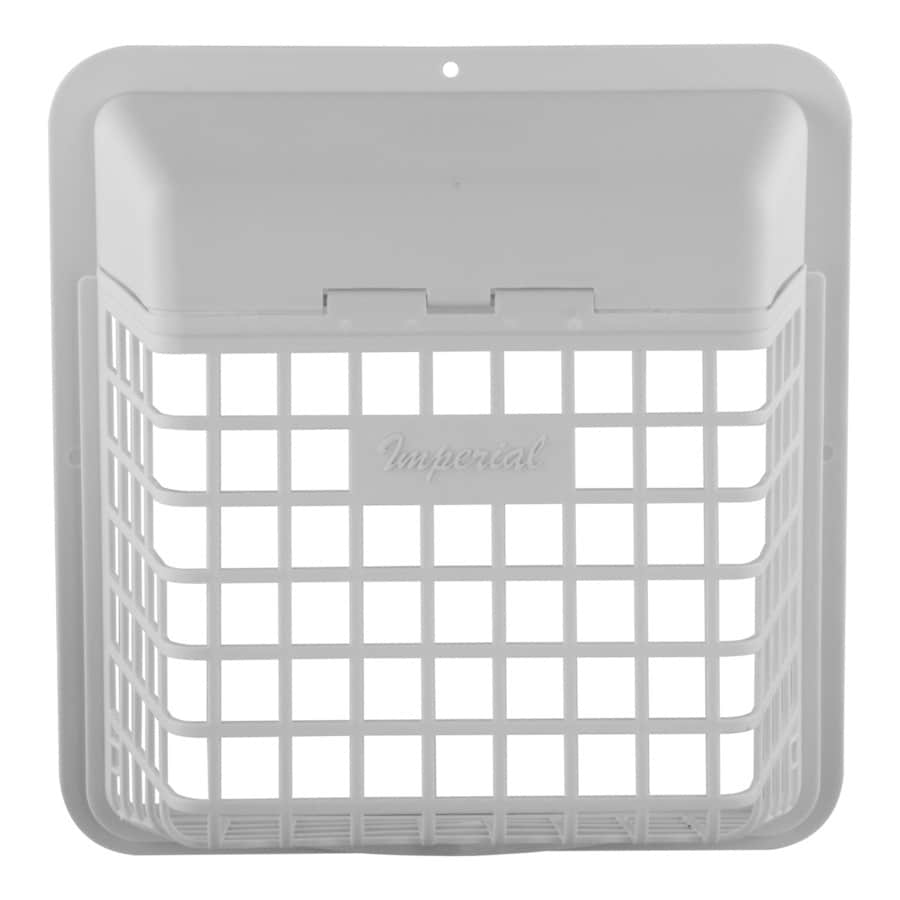 IMPERIAL 4-in Plastic Pest Guard Dryer Vent Cap