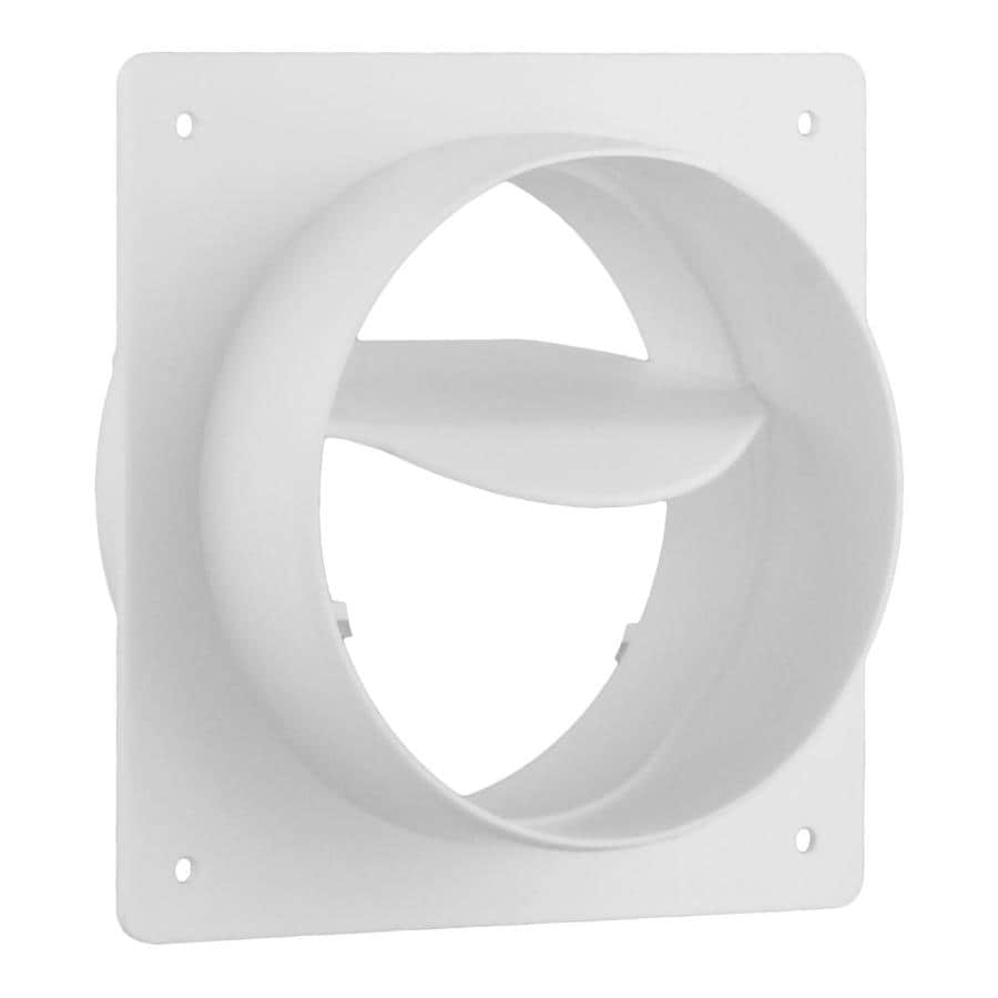 IMPERIAL 4-in Plastic Dryer Vent Draft Blocker