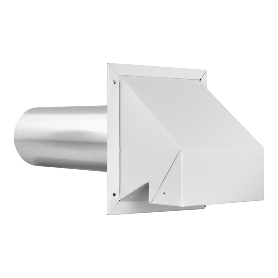 Shop IMPERIAL In Dia Galvanized Steel R Exhaust Dryer Vent Hood - Bathroom vent hood