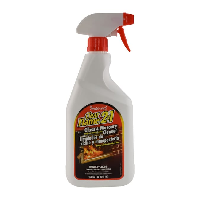 Imperial Stove Glass And Masonry Cleaner 22 Oz At Lowes Com