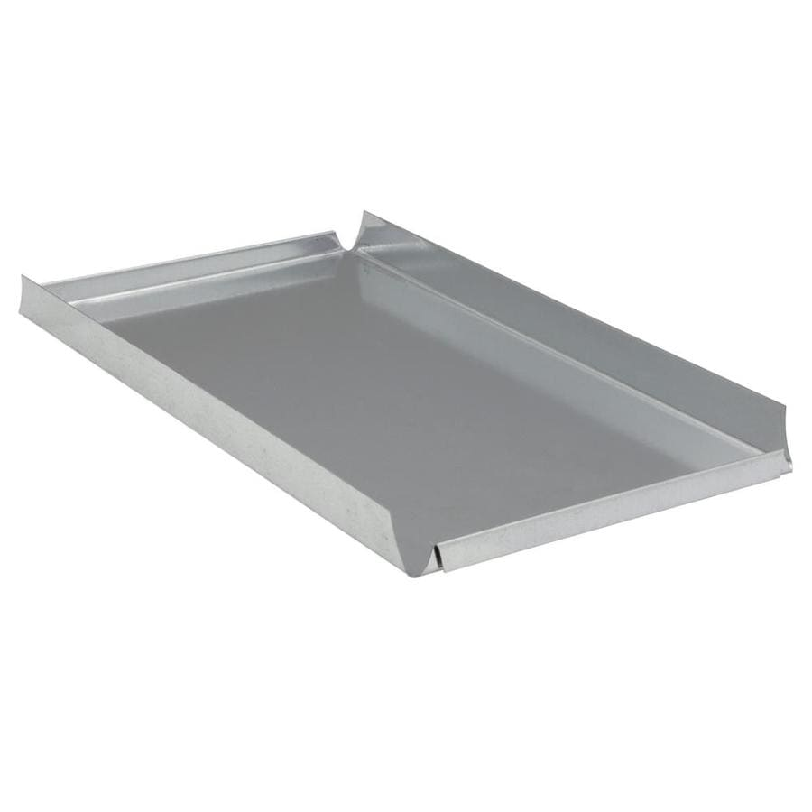 IMPERIAL 14-in x 8-in Galvanized Steel Blind End Cap