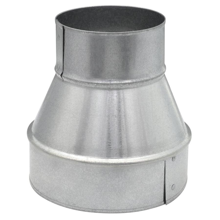 IMPERIAL 6-in Dia x 4-in Dia Duct Reducer