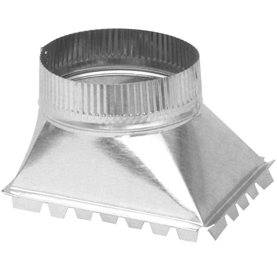 IMPERIAL 6-in x 6-in Galvanized Steel Side Duct Take-Off