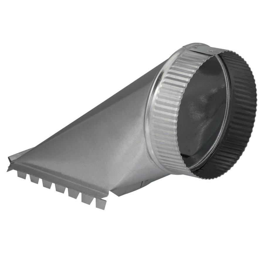 IMPERIAL 6-in x 6-in Galvanized Steel Top Duct Take-Off